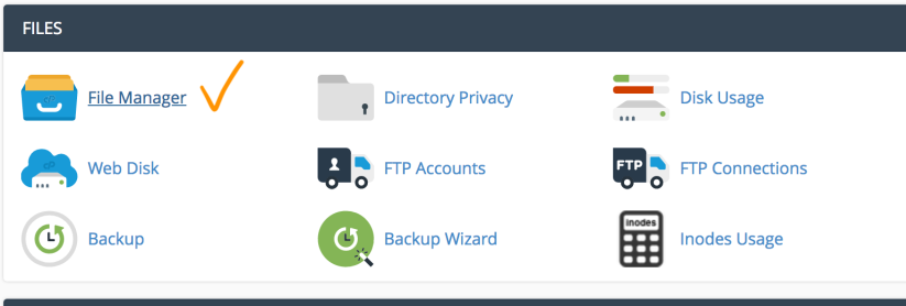 c-panel-file-manager