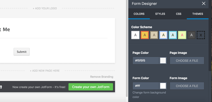 JotForm-form-designer